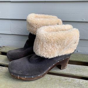 UGG Gray Lynnae Boot Sz.9 #3204